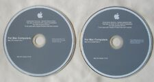 Apple Mac Computer OS x 10.4.8 Install Discs DVD Tiger (v5967)