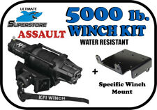 KFI 5000 lb. ASSAULT Winch Mount Kit '03-'13 Yamaha Rhino 450 / 660 / 700