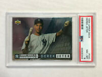 DEREK JETER 1994 Upper Deck Prospects RC #550! PSA NM-MT 8! YANKEES! HUGE SALE!