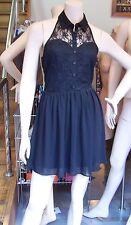 GORGEOUS FOREVER 21 SHORT LENGTH BLACK DRESS SMALL RN#94981 CA#40198
