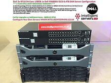 Dell 2x R710 24-Core 1x Dell EqualLogic PS6000X configuración de SAN iSCSI 6.4TB