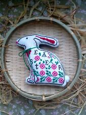 Spring bunny. 3D  home decor pillow.