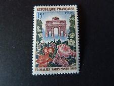 France 1959 - Lot de 3 timbres YT n° 1189, 1197 & 1220 neuf**/MNH