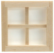 Dollhouse 1/24 Scale Houseworks 4 Light Window #HWH5004
