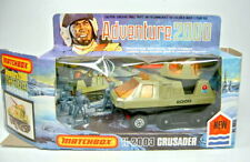 "Matchbox Adventure ""2000"" K-2003 Crusader avocado top in Box"