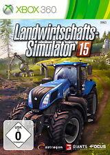 360 Xbox juego agrícola simulador 15 con instrucciones buen estado + embalaje original