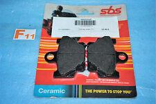 2 plaquettes de frein SBS  Yamaha RD 350 80 125 LC SR 125 XT 500 TT 600 XJ 650