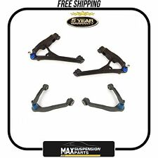GM TRUCKS (4) Upper & Lower Suspension Control Arm and Ball Joint Assembly