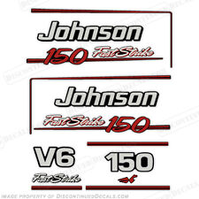 Johnson 1991-1996 150hp FastStrike V6 Decal Kit -  Decal Reproductions in Stock