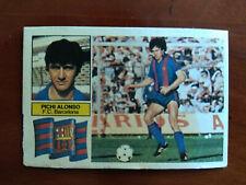 Cromo Pichi Alonso dificil liga 82 83 ediciones este temporada 1982 1983 fútbol