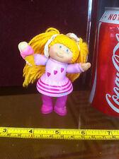 Cabbage Patch Kids 1984 Muñeca Figura Rara Vestido Rosa Helado Rubia Coletas