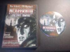 Nosferatu ~ The First Vampire ~ Max Schrek ~ DVD