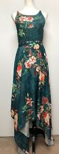 Lace & Beads Cosmos Floral Dress Long Size 8 New
