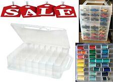 46 Slot Storage Case Thread Bead Jewel Organizer Spools Nail Hot Wheels Matchbox