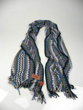 * MISSONI Multi-Color Zig Zag Design Scarf Made in Italy Shawl