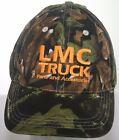 LMC Truck Parts & Accessories Camo Hat - Camouflage One Size Strapback Cap - EUC