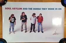 """SOUL ASYLUM """"And The Horse They Rode In On"""" PROMO Poster RARE never hung"""