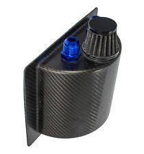 Motamec in fibra di carbonio OIL CATCH TANK 1 LITRI carbonfibre versione breve + Sfiato