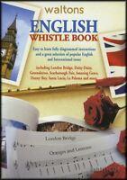 English Whistle Book Tin Whistle Music Book