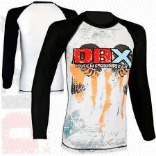 Mma Grappling Rash Guard Ufc Boxing T-Shirt Sports Top Full/Long Sleeve S-M-L-Xl