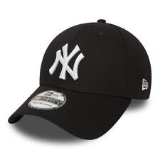 NEW ERA MENS 39THIRTY BASEBALL CAP.MLB NEW YORK YANKEES STRETCH FIT BLACK HAT 38