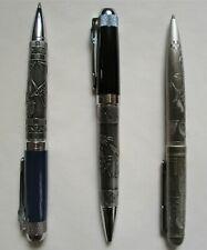 6 Blue Limited Masonic Beautiful  ball point Pen W//Gift Box Wholesale Deal