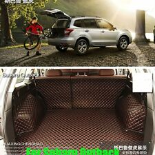 Trunk Boot Liner Mat For SUBARA OUTBACK 2010-2014 Years Carpet Cover Waterproof