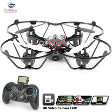 KiiToys H6C Black Quad Copter Drone with HD Camera 2mp 720p Headless Mode 2.4ghz