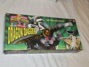Mighty Morphin Power Rangers Dragon Dagger Works great #2251 1994 Ban Dai