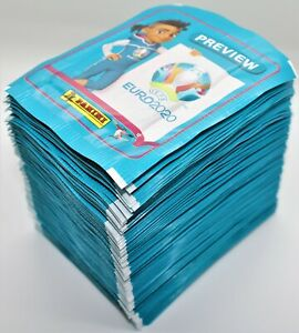 Panini EURO 2020 Preview - 100 Tüten = 500 Sticker NEU