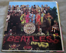 The Beatles Sgt. Pepper Album w/cut-outs On Capital/Rainbow label MONO VG++