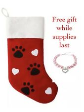 "17"" North Pole Trading Co Pet Christmas Stocking"