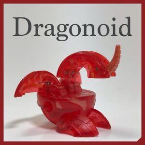 "Bakugan~ Classic B1 Pyrus Translucent Red Dragonoid ""Drago"" 420G & Cards"