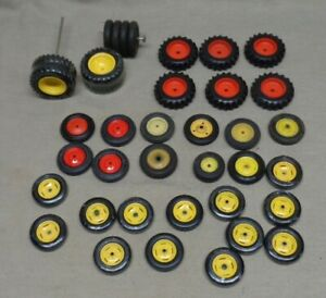 Lot Of 38 Vintage John Deere Etc Tractor Tires Custom Parts Restoration
