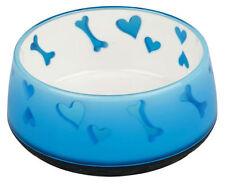 Artículos de color principal azul de acero inoxidable para perros