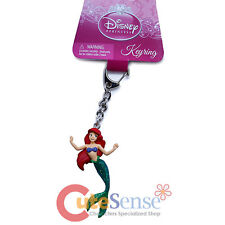 Disney Princess Little Mermaid Ariel Key Chain 3D PVC Figure Key Holder