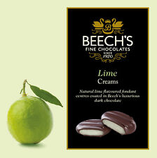 Beechs Dark Chocolate Lime Creams 90gm box (Pack of 6 boxes)