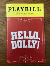 HELLO DOLLY Playbill - Bernadette Peters, Victor Garber, Gavin Creel