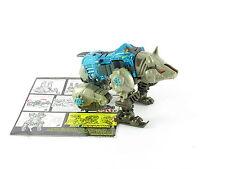 Transformers Beast Wars Rhinox Transmetals No Horn