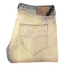 Jeans da donna gamba dritta blu Diesel
