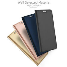 Luxury Slim Flip Magnetic Wallet PU Leather Case Cover For iPhone Samsung Huawei