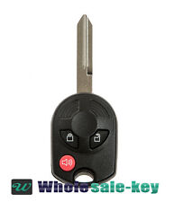New Replacement 3 Button Uncut Remote Head Key Keyless Entry Fob for Ford