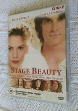 Stage Beauty (DVD, ORIGINAL) REGION-4, LIKE NEW, FREE POST WITHIN AUSTRALIA