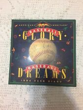 1994 Baseball Desk Diary
