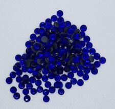 Hotfix Strasssteine Sapphire / Blau, Menge wählbar