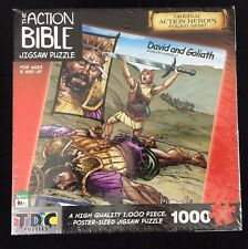 David and Goliath Jigsaw Puzzle 1000 Pc from The Action Bible Poster Sized Age 8