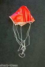 "24"" Red Model Rocket Parachute - Six Sided - Quality Rip-Stop Nylon"