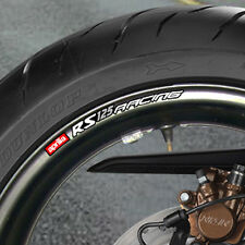 8 X Aprilia Rs 125 Racing Rueda Llanta Stickers Calcomanías-Mille Vrs rs50