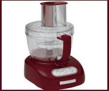 New KitchenAid 12 Cup WIDE MOUTH BIG Food Processor Dark Red kfpw761gc Super Big