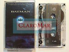 ☀️ Batman Original Motion Picture Score Danny Elfman Cassette Tape 1989 USA MINT
